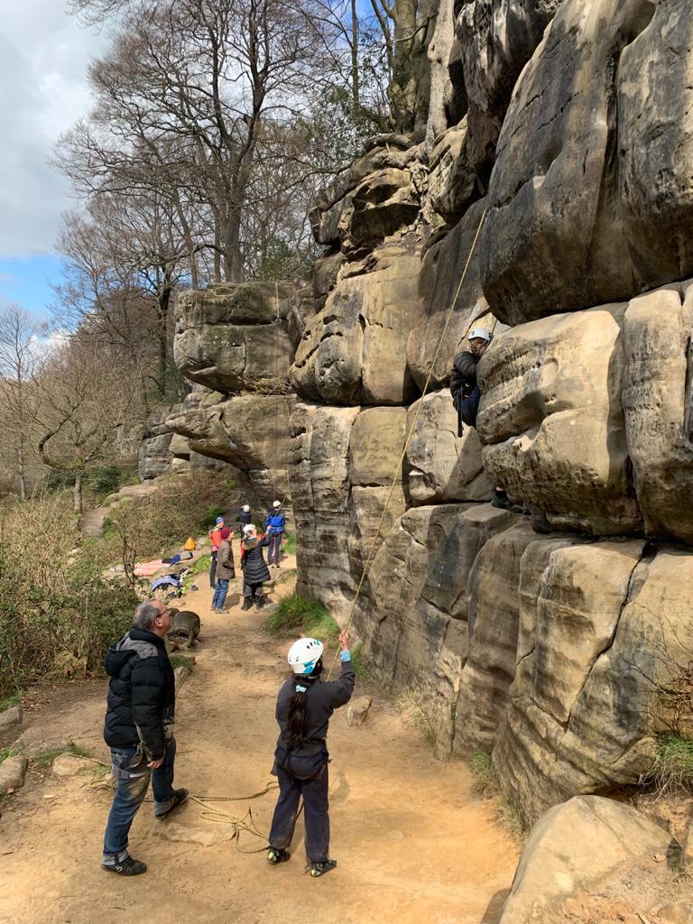 Harrison's Rocks, April 2021