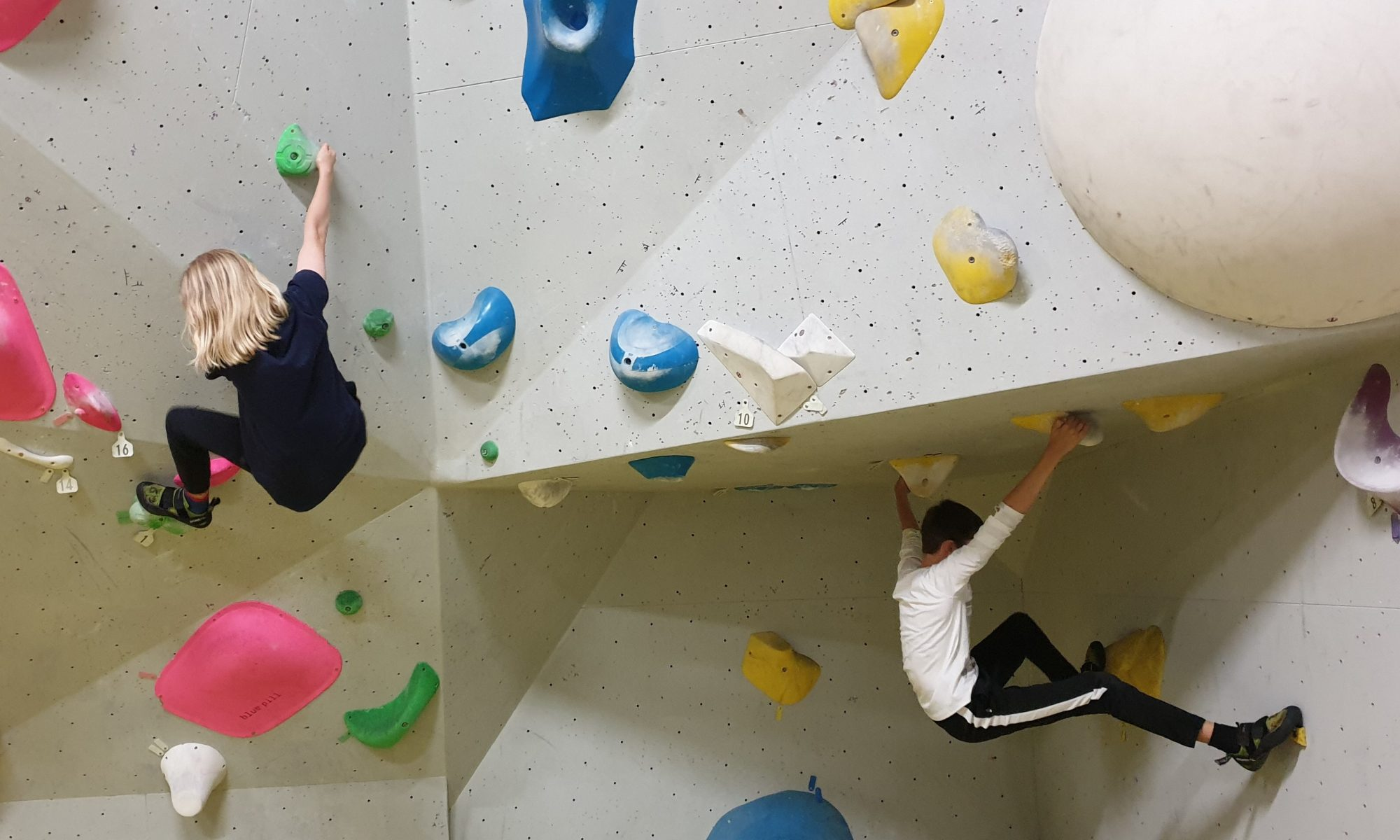 Bouldering at THe Castle